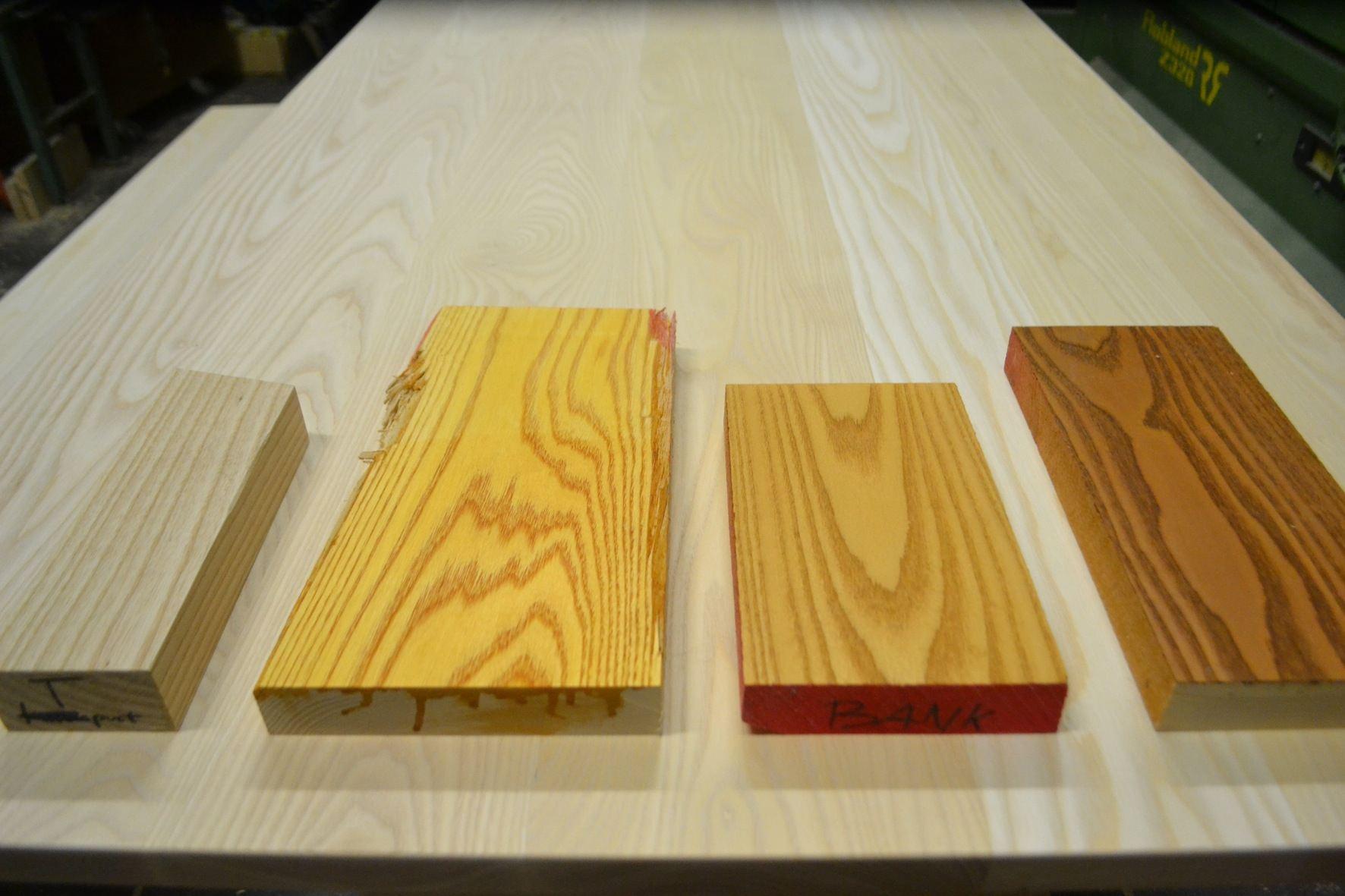 Houtwerff · maatwerk tafel en bankje · meubelmaker uit eindhoven