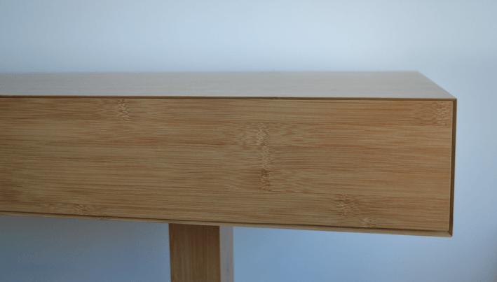 bamboe bureau interieur op maat eindhoven