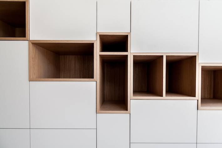 Design wandmeubel op maat gemaakt Eindhoven